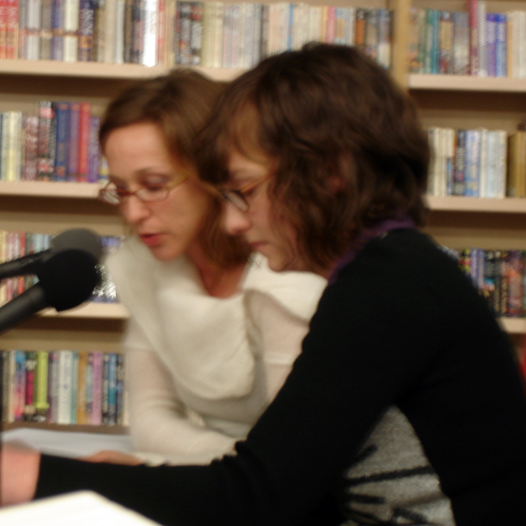 Suzanne Stein and Alli Warren